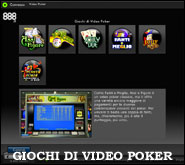 Giochi di Video Poker