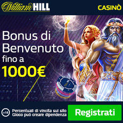 William Hill: giochi legali per l'Italia