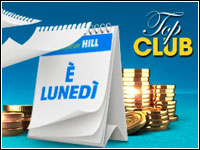 Top Club Bonus Extra offerto da William Hill