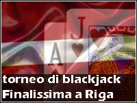 Torneo di Blackjack by Unibet